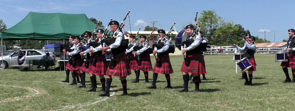 Bellinger River District Pipe Band, New South Wales, Australia